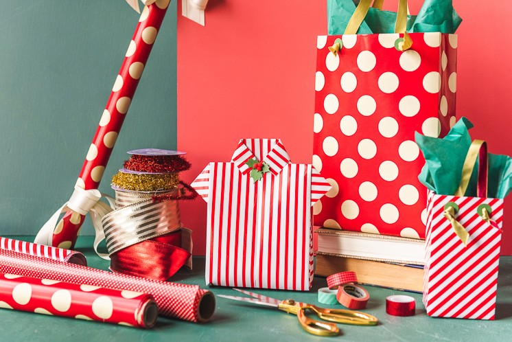 3 Clever Things To Do with Wrapping Paper - The House Lars Built