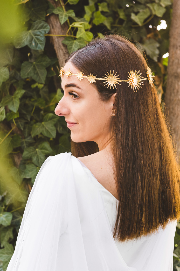 DIY Gold Foil Star Crown