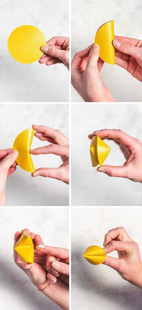DIY Paper Fortune Cookies | Regalos creativos para novio, Regalos ... | 1038x476