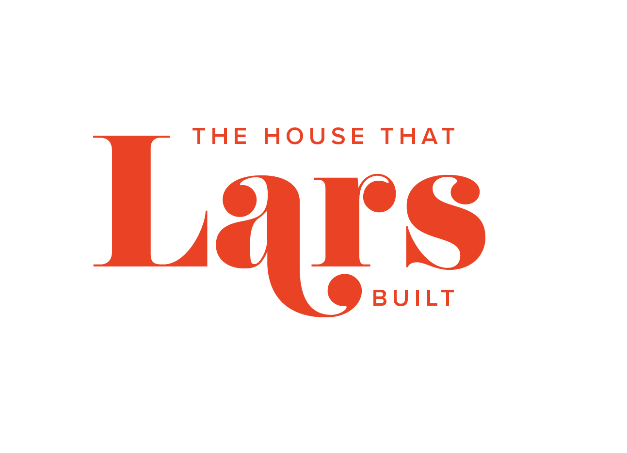 The House That Lars Built Logo