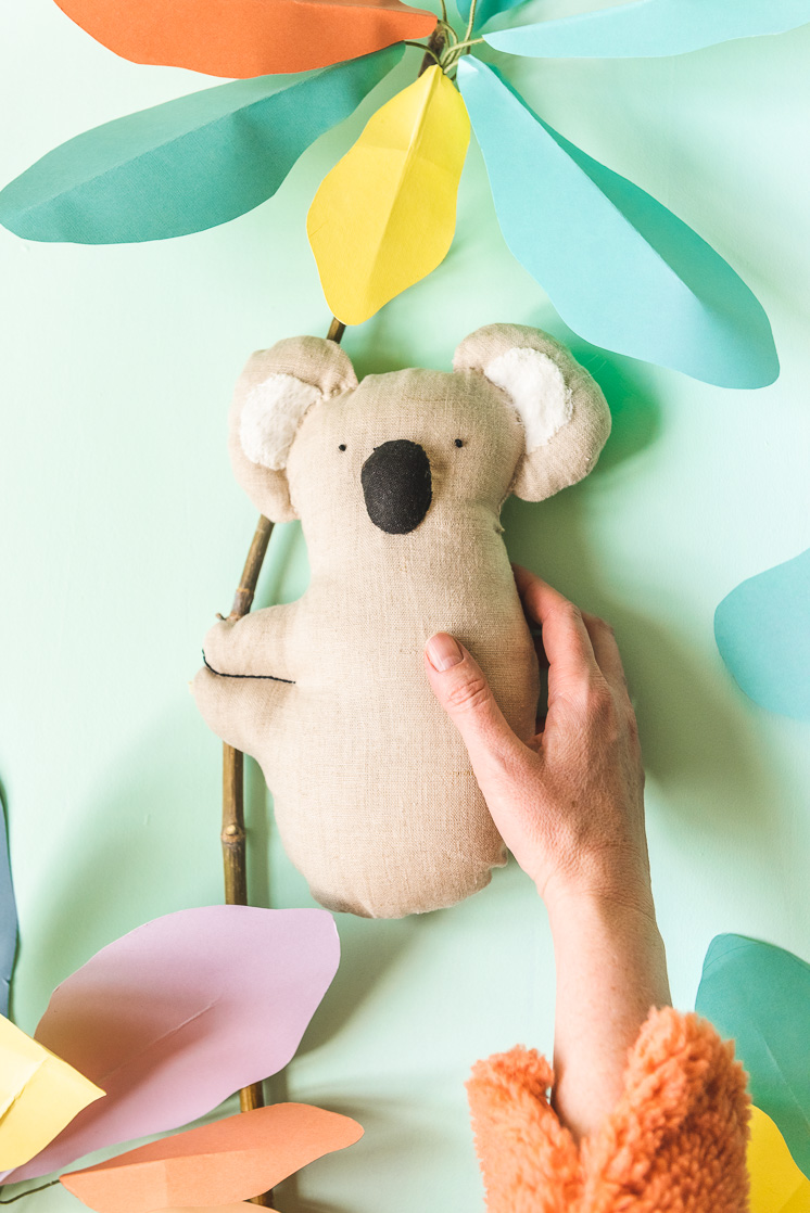 DIY Stuffed Koala for Australia Fire Relief