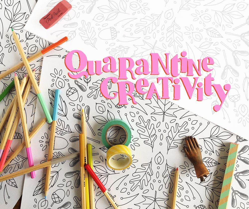 quarantine creativity: how to keep your kids busy during social distancing