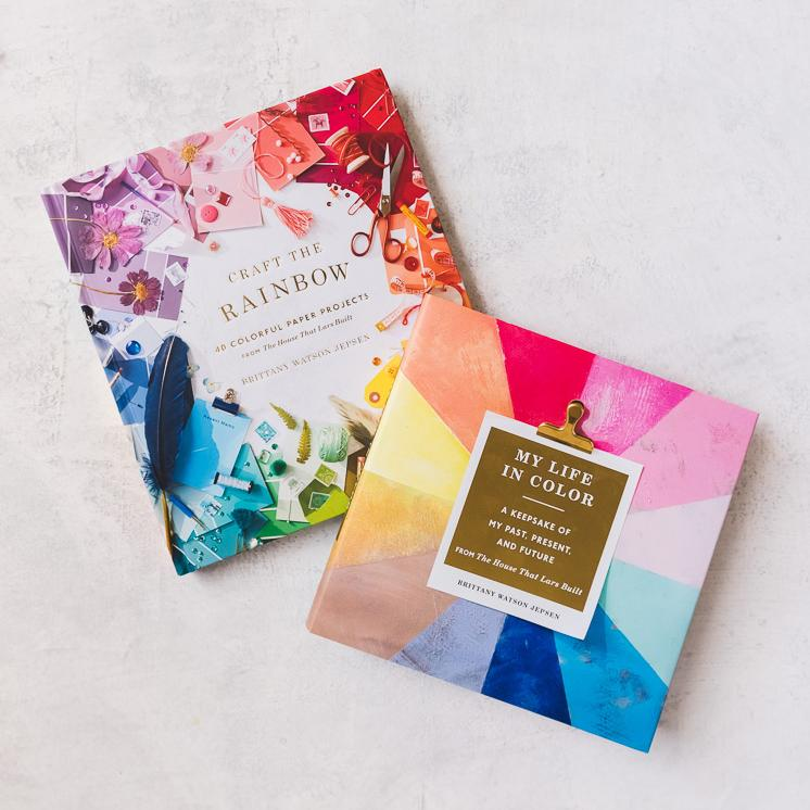 Craft the Rainbow and guided journal for creatives for Mother's day gift guide ideas