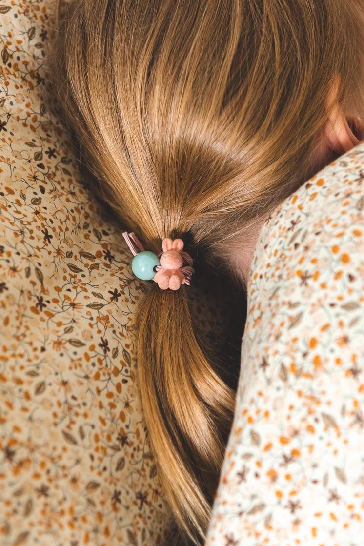 bunny velvet hair ties