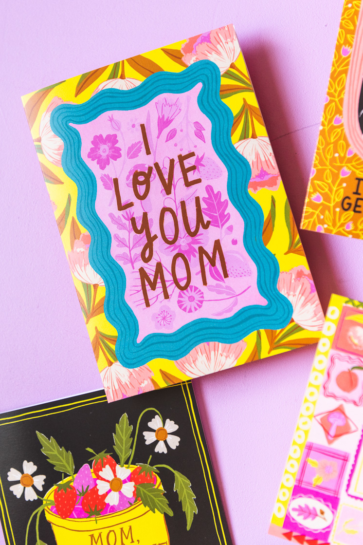 Mother's day cards you can download and print yourself