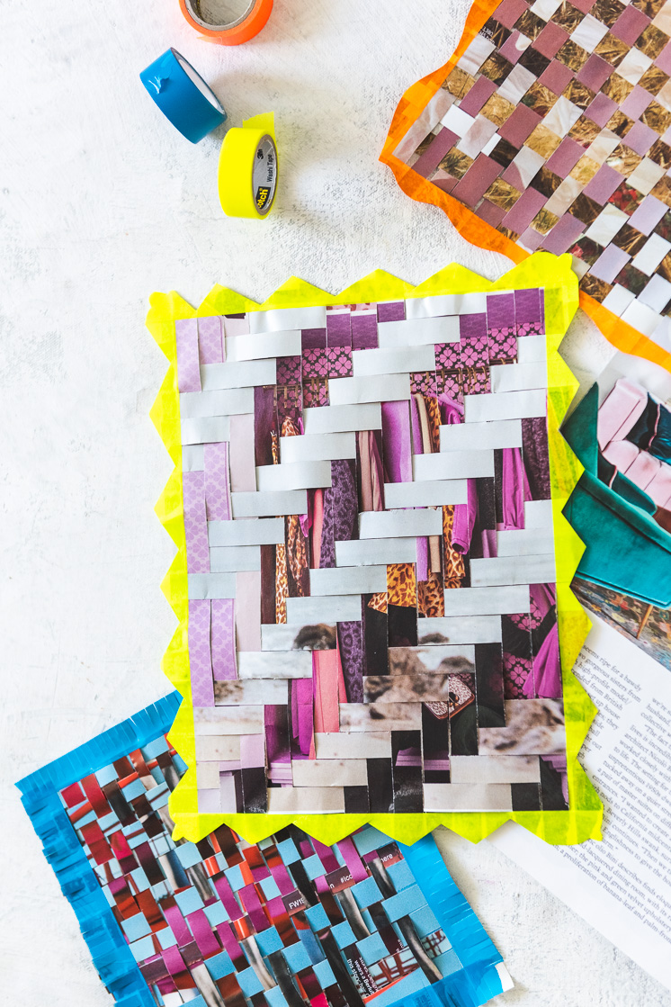 Paper Weaving from Craft the Rainbow book