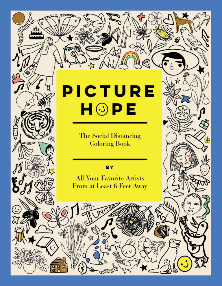 Picture Hope: The Social Distancing Coloring Book
