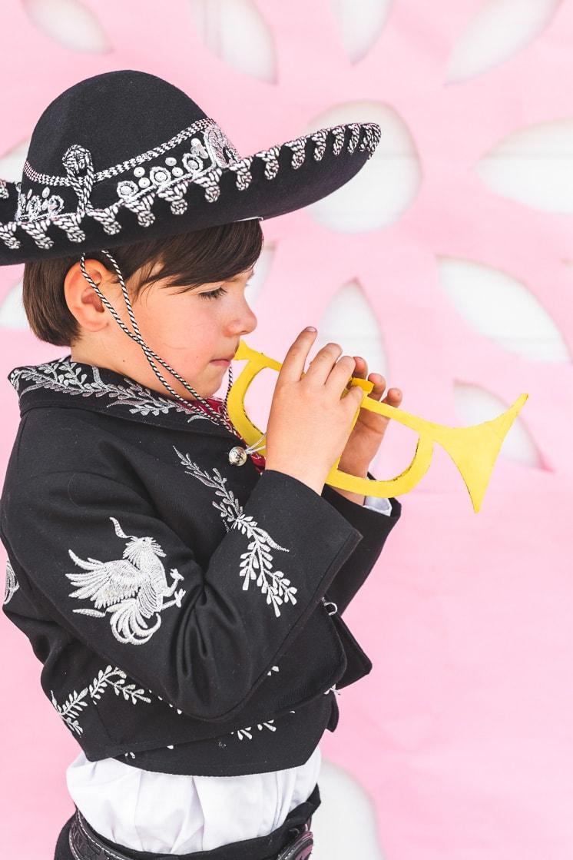 cardboard trumpet