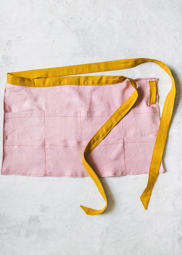 garden apron pattern waist-only apron printable pattern