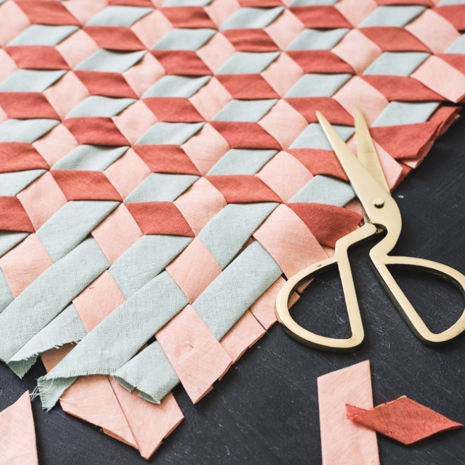 DIY bias tape weaving Creative hobbies to try when you are feeling uninspired