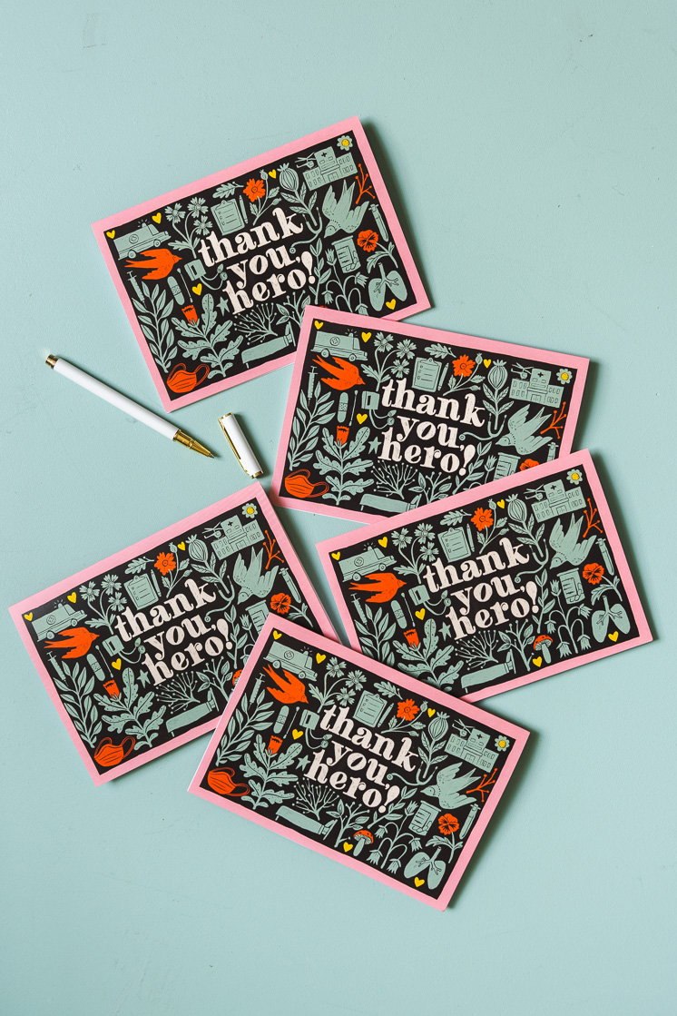 Thank you card for nurses day you can print at home