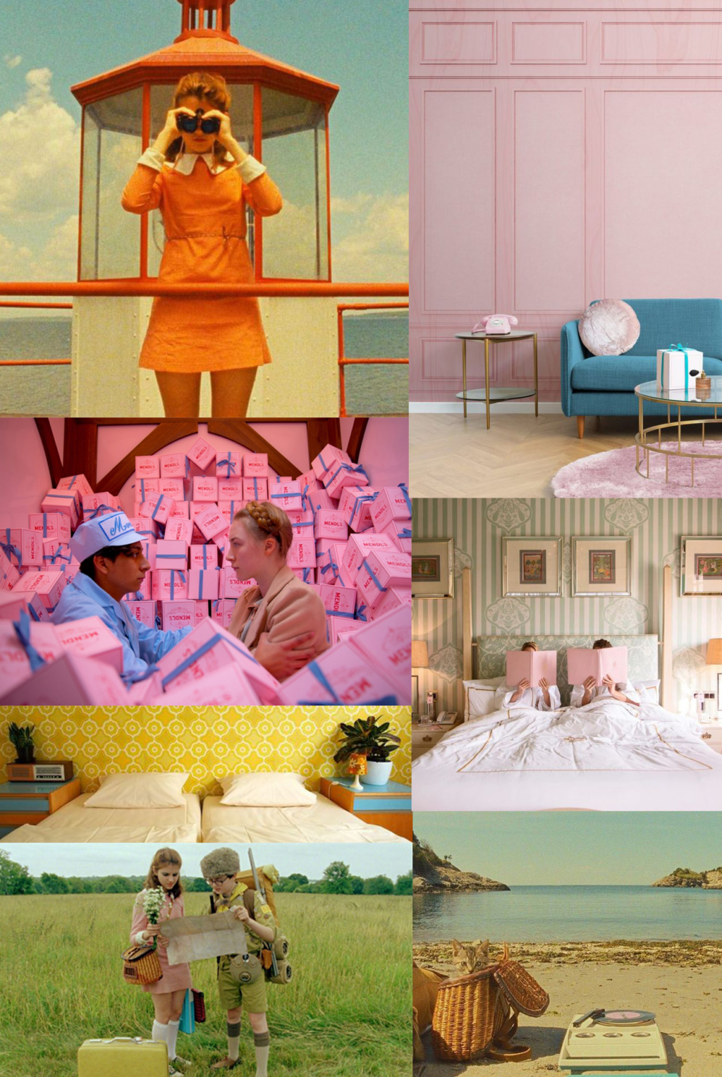 how to decorate like wes anderson
