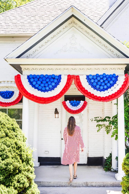 DIY Fourth of July Bunting