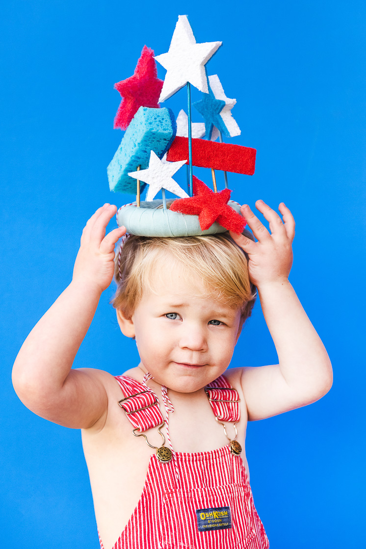 DIY Sponge Crown for kids