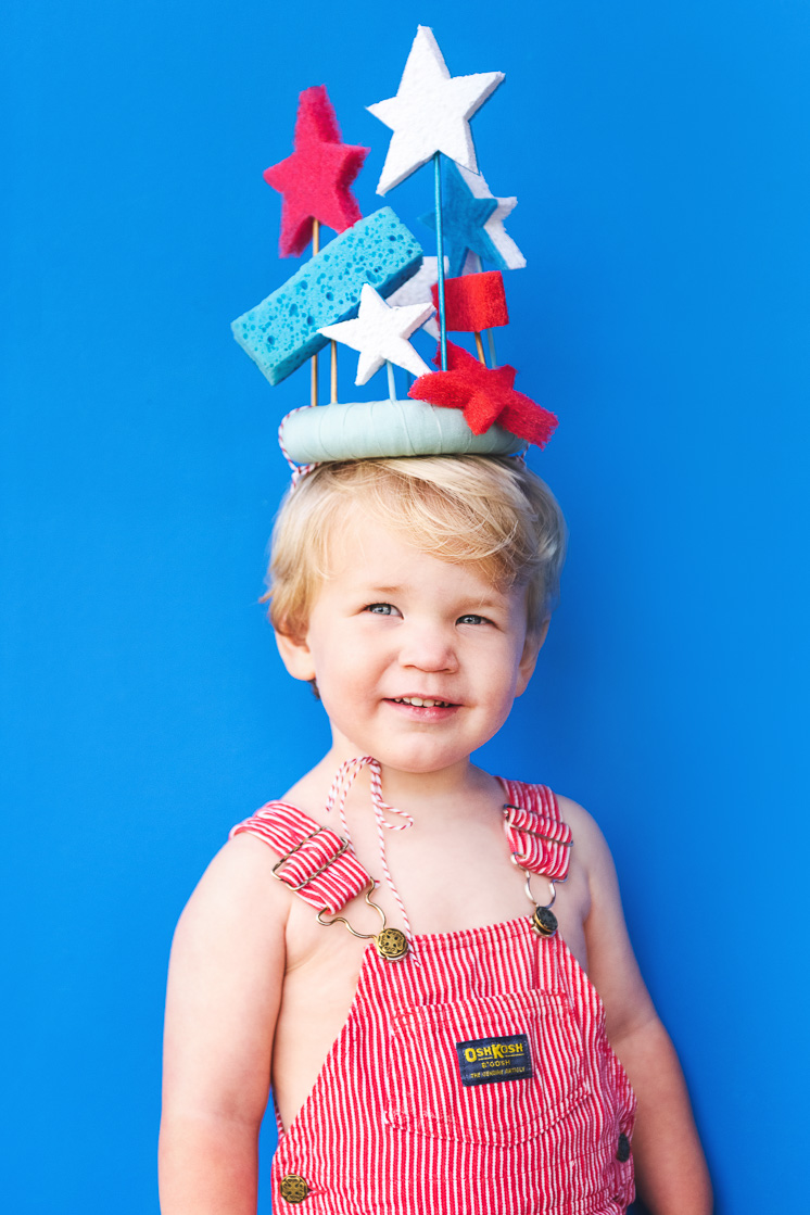 Cool off this summer with a DIY Sponge Crown