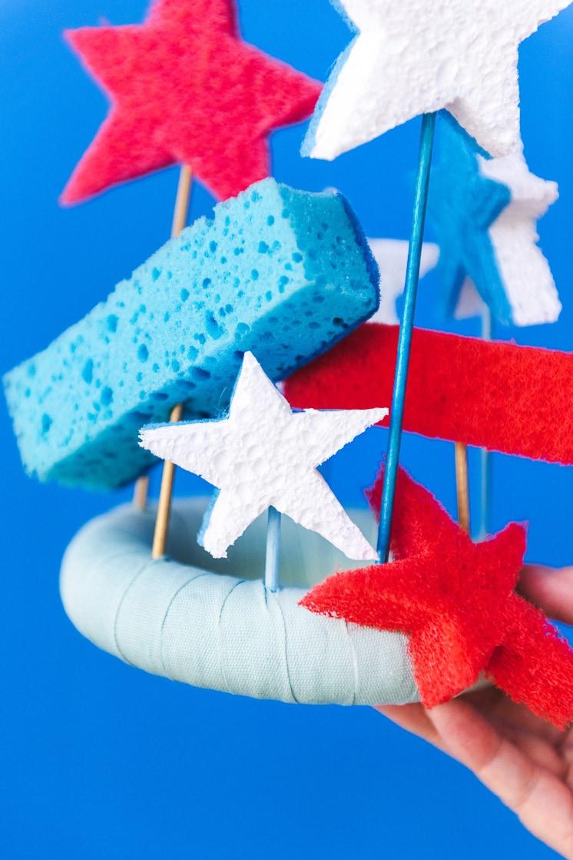 DIY Sponge Crown for kids