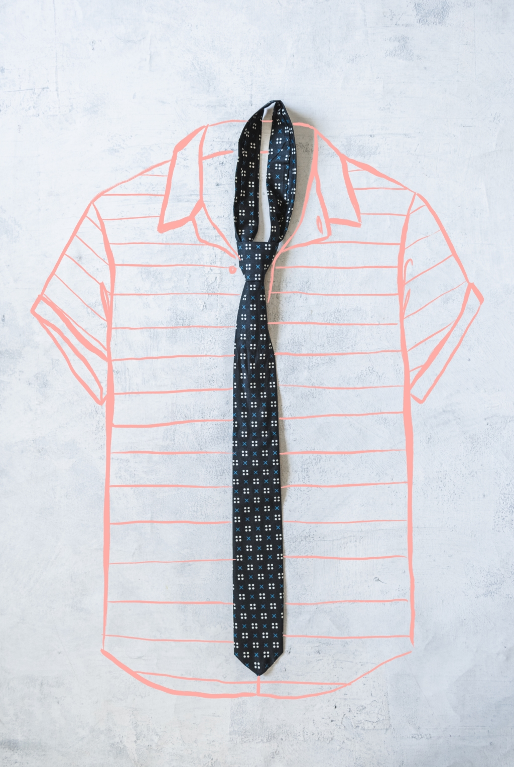 Father's day tie pattern DIY