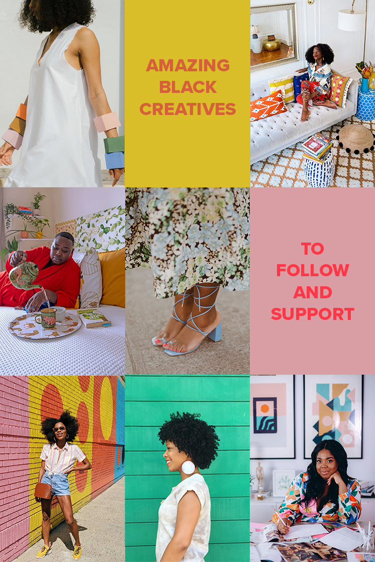 Black Creatives to Follow and Support