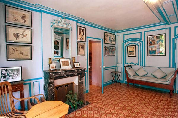 Monet inspired interior design