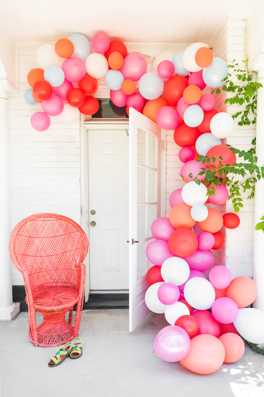 Ballon arch installation