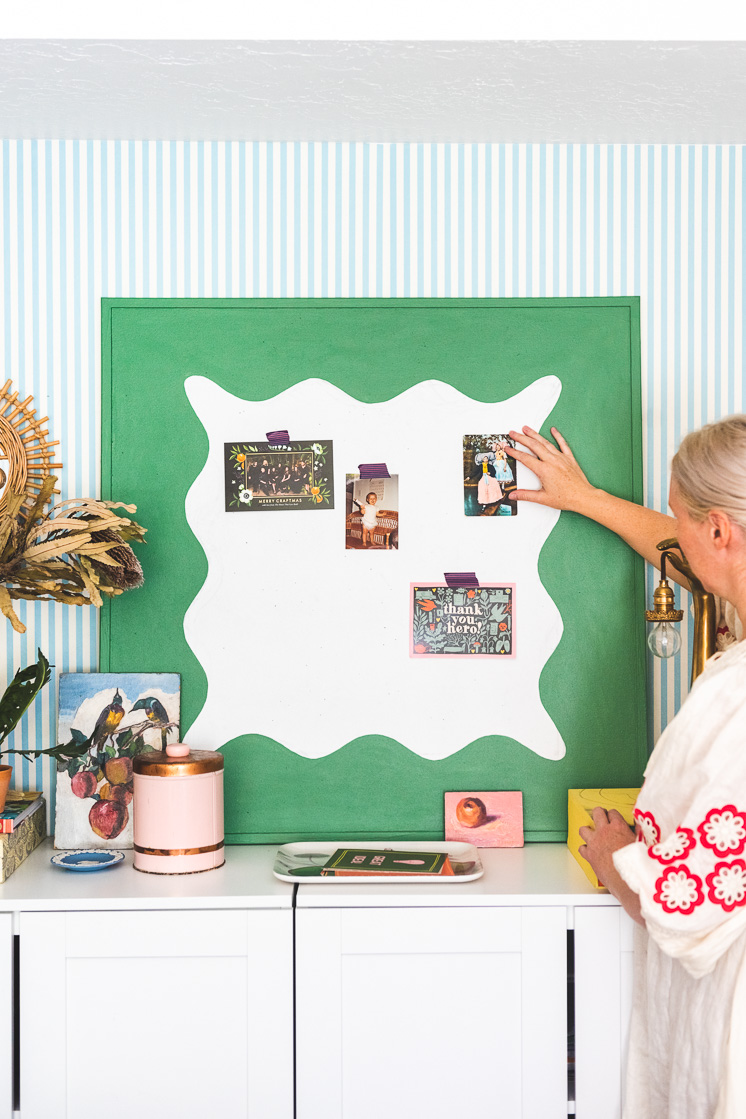 Scallop Wave DIY Pinboard