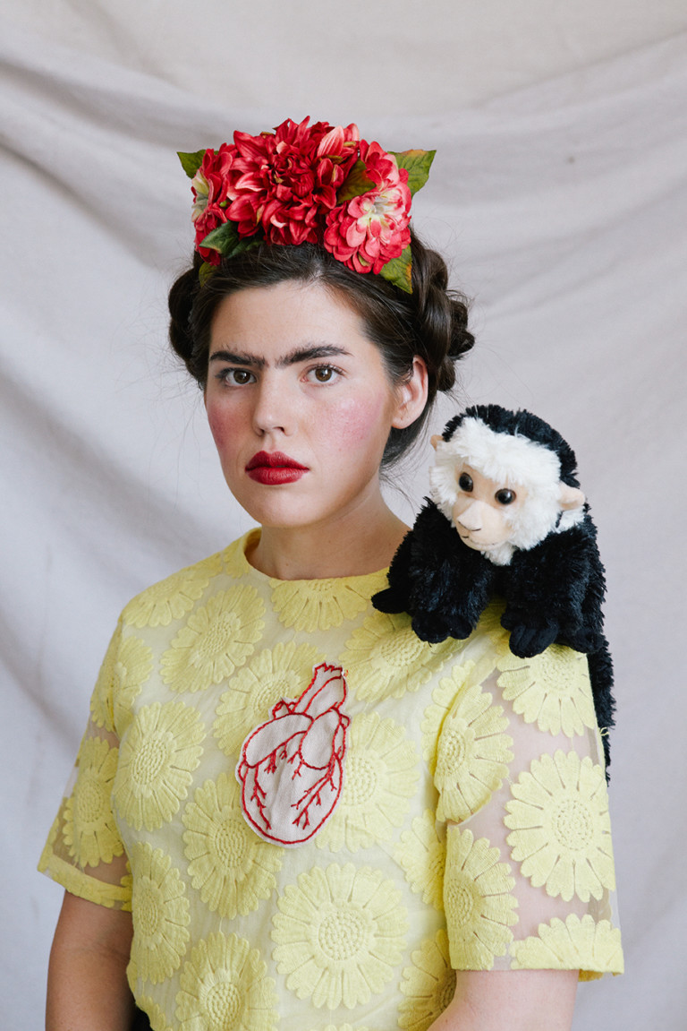 DIY projects inspired by Frida Kahlo