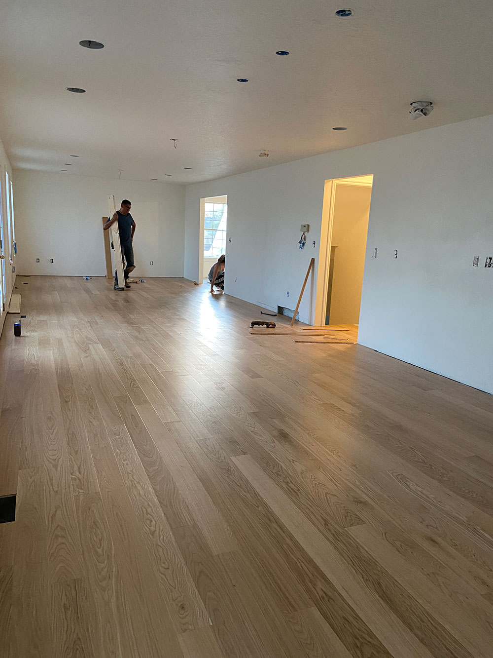 Our new hardwood flooring and how to care for it   The House That ...