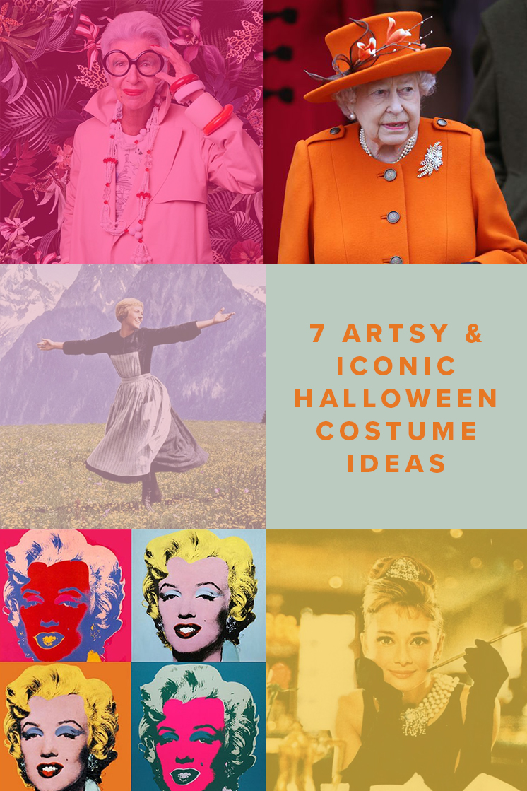 7 Artsy and Iconic Halloween Costume Ideas
