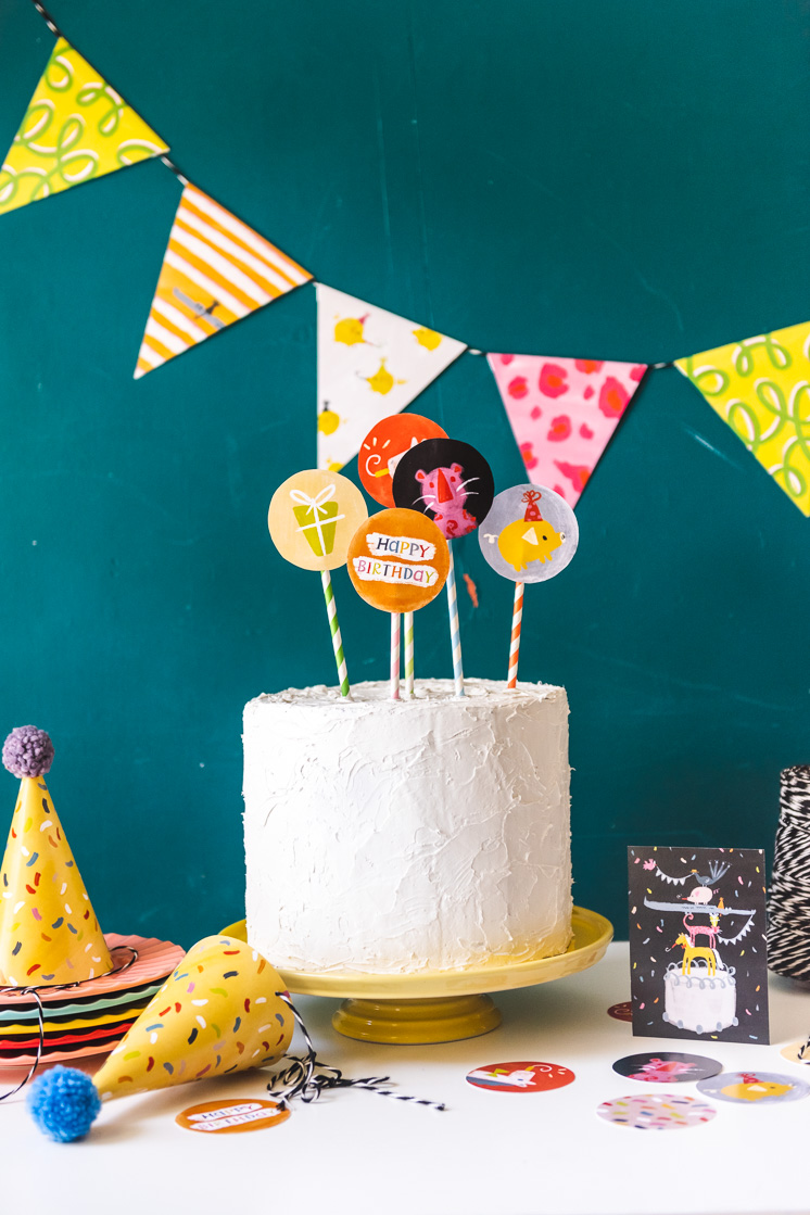 Printable Birthday Party Decor