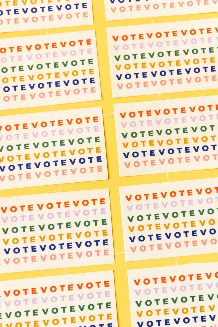 Voting Resources and New Vote Stickers!