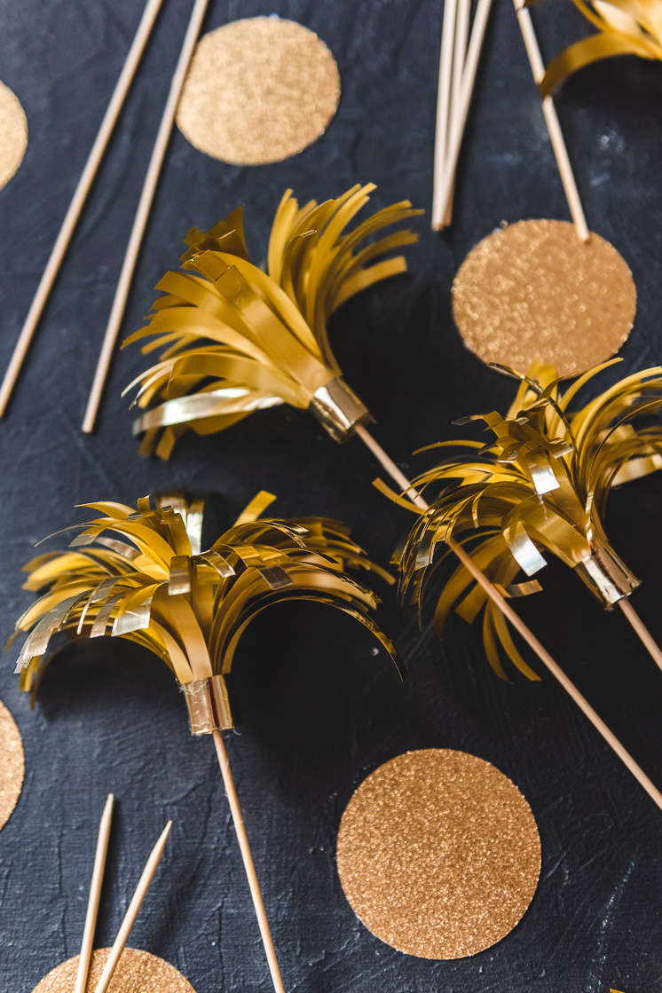 DIY Sparklers for New Year's Eve