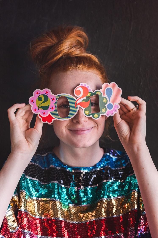 Printable New Year's Glasses