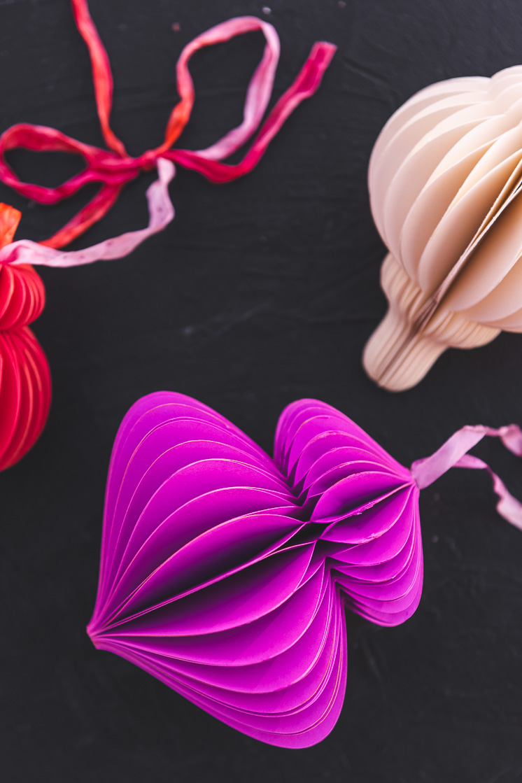 Diy Paper Honeycomb Ornaments The