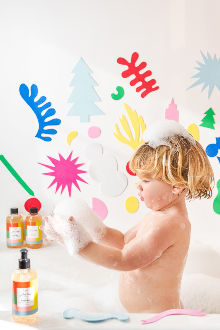DIY Bathtime Art Shapes with Tubby Todd