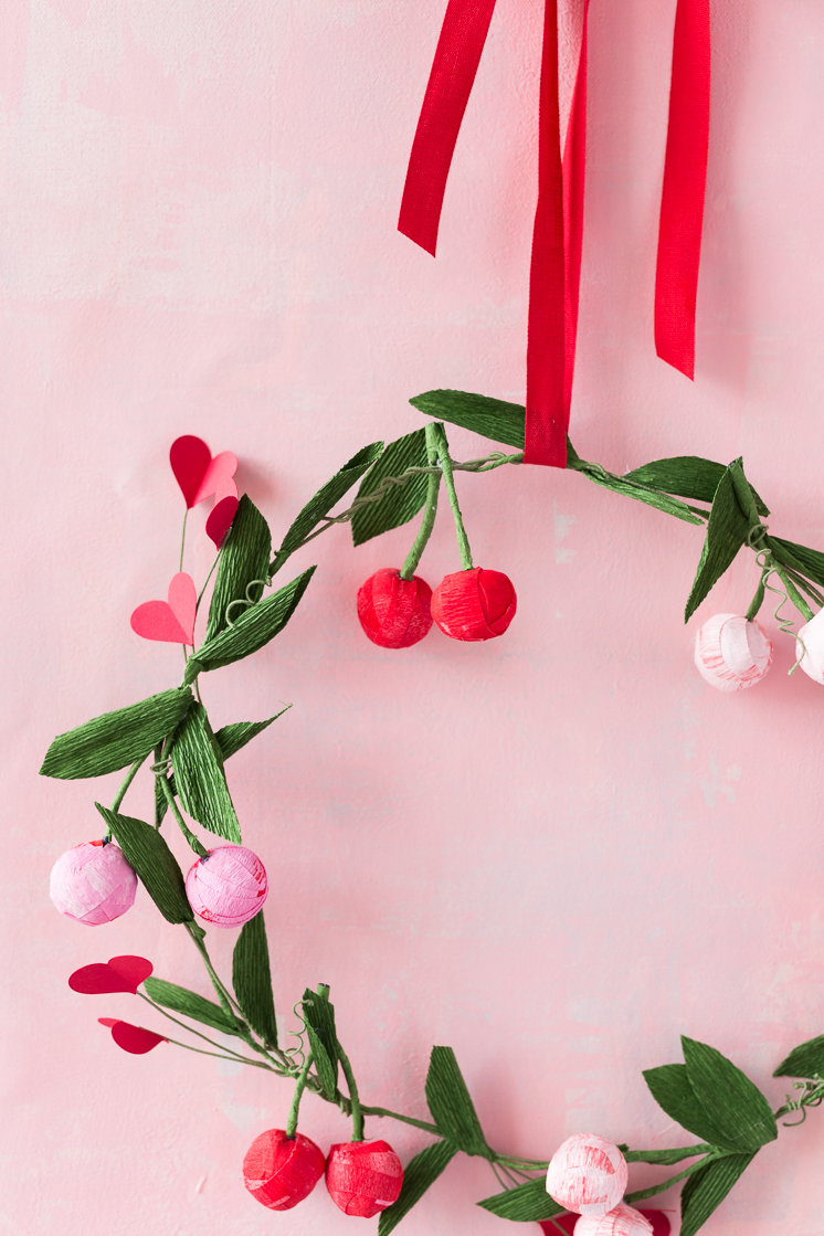 Valentine's Day Cherry Wreath Kit