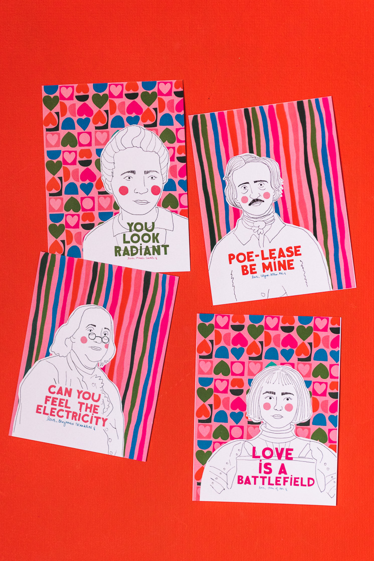 printable valentines from The House That Lars Built