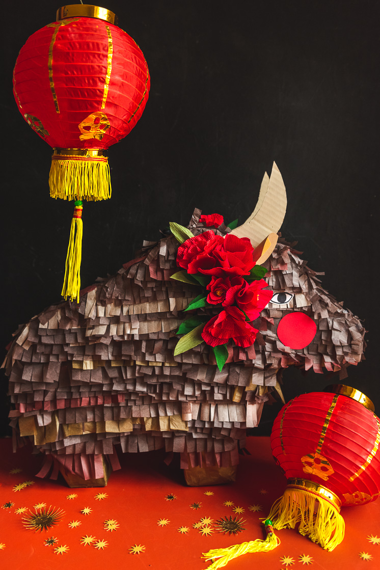 DIY Ox for Chinese New Year