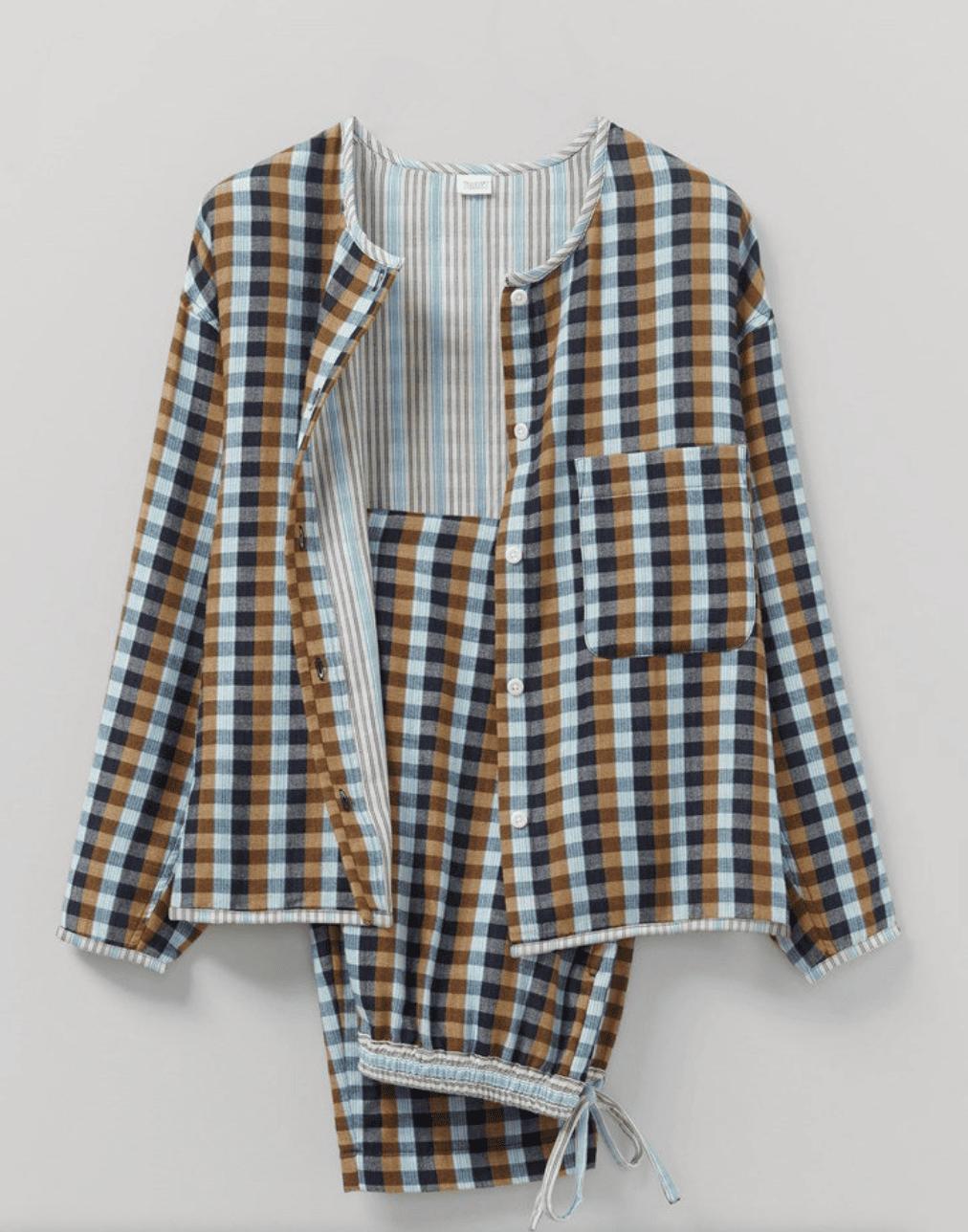 woven pajamas from Toast