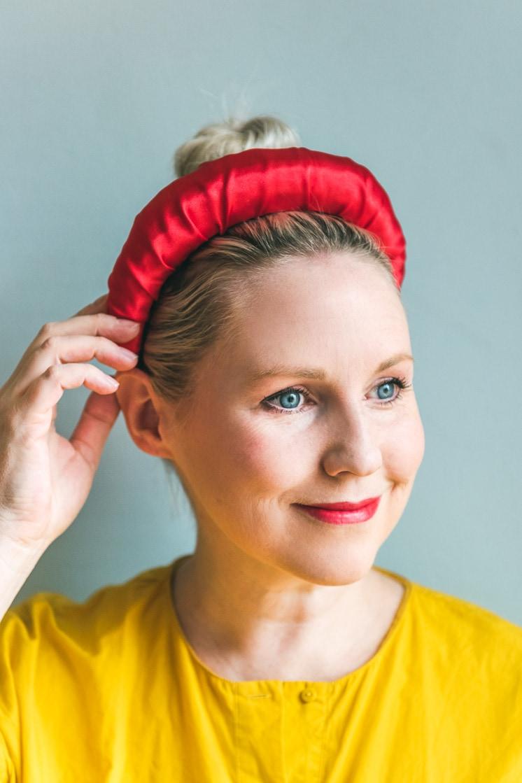 Amanda Gorman headband DIY