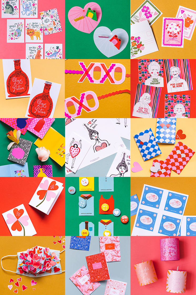 New Printable Valentines from Artists We Love