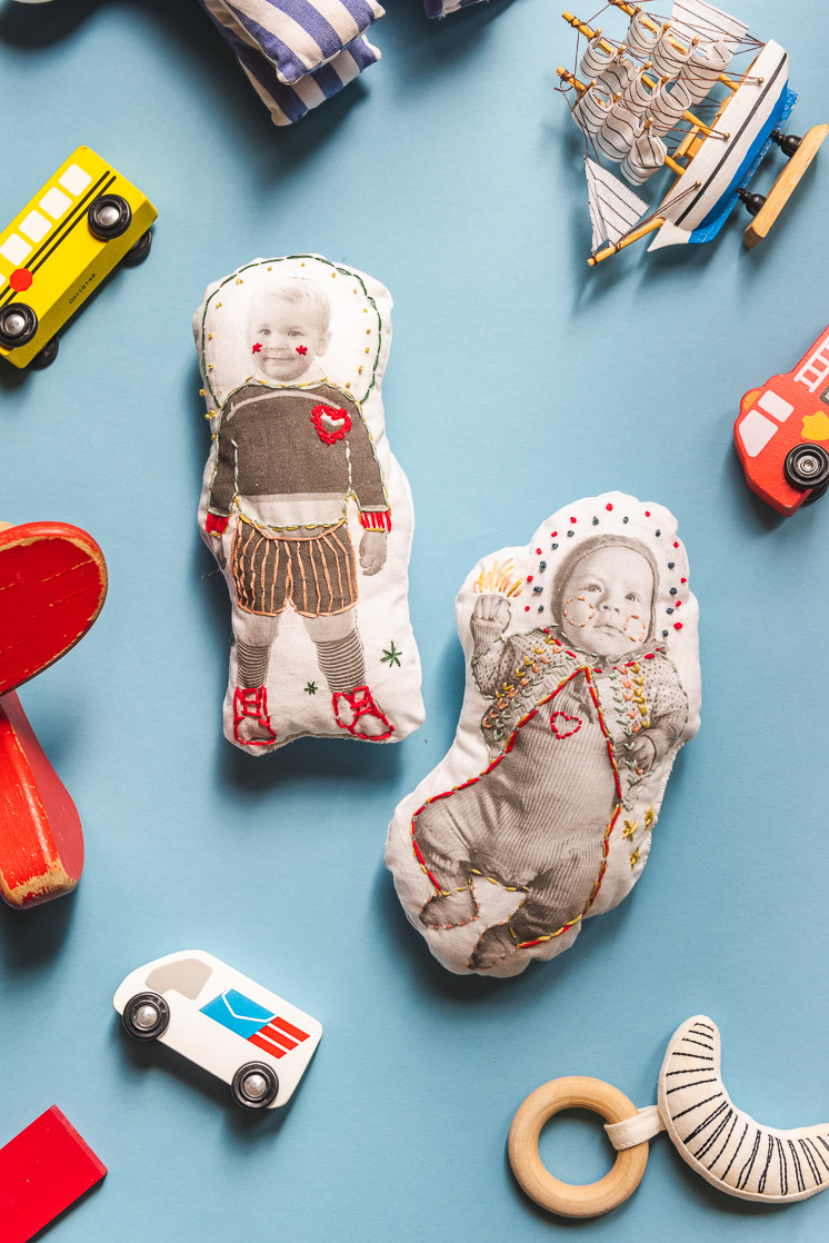 Photo Transfer Dolls for Mother's Day