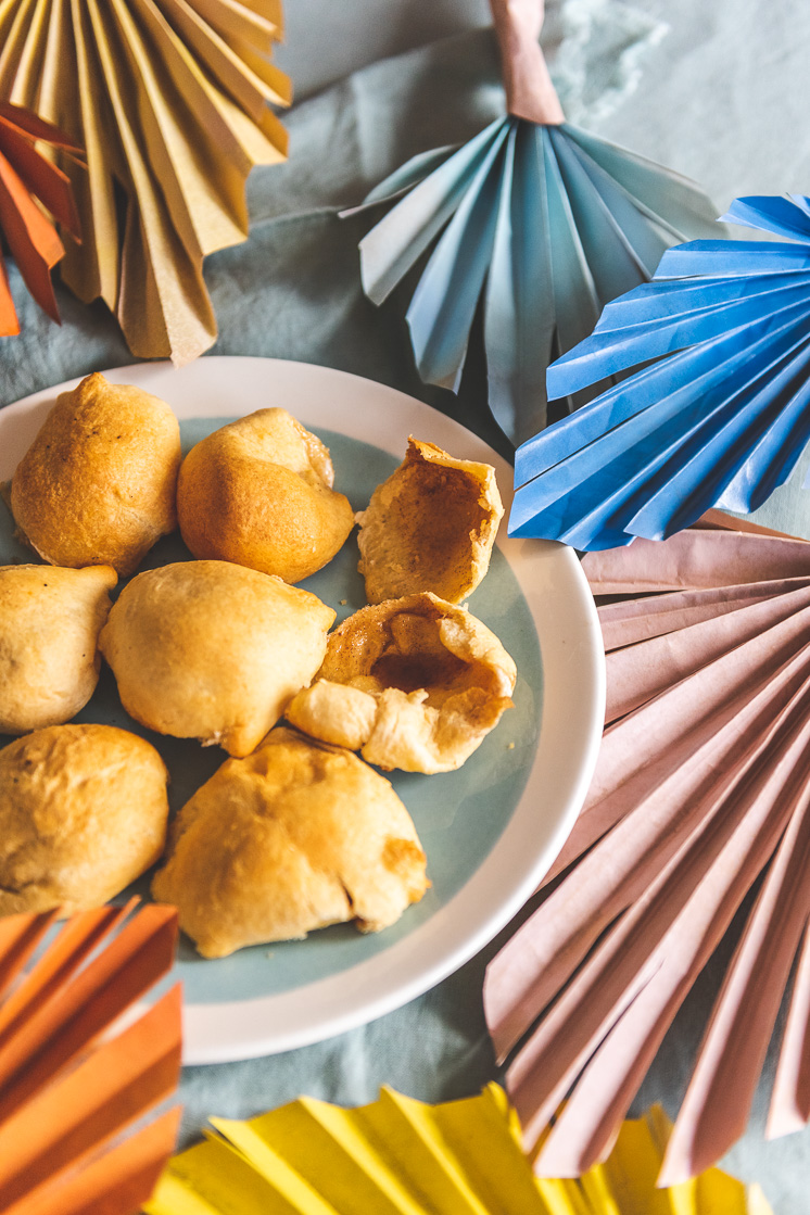Palm Sunday craft and Resurrection Rolls from The House That Lars Built