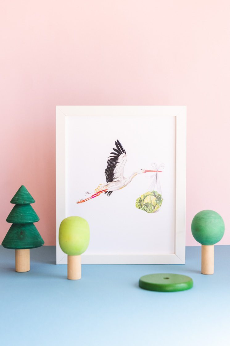 cheap art for kid's rooms