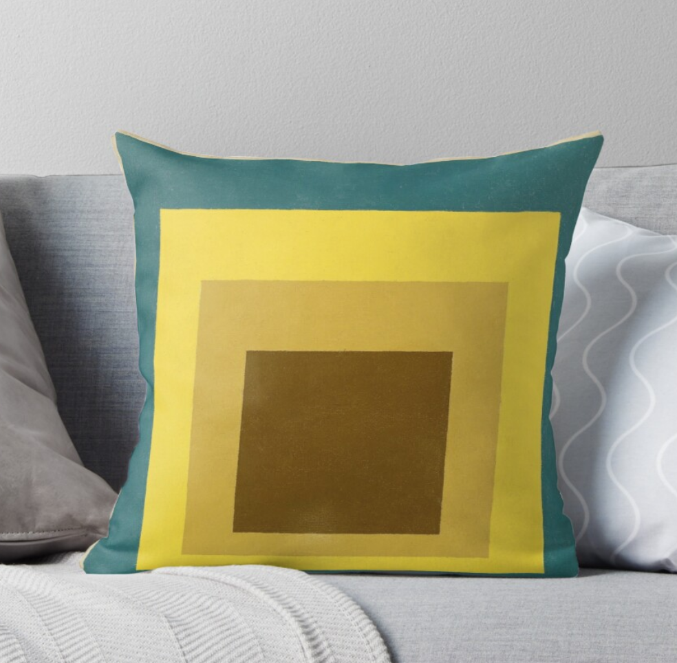Homage to the Square Pillow