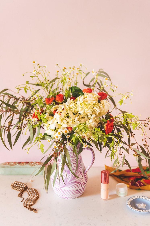 DIY Grocery Store Flower Bouquet