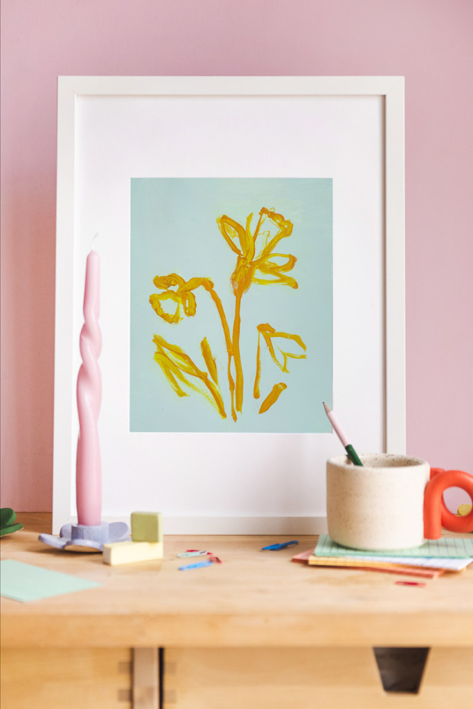 Daffodil II print by Rachel Smith