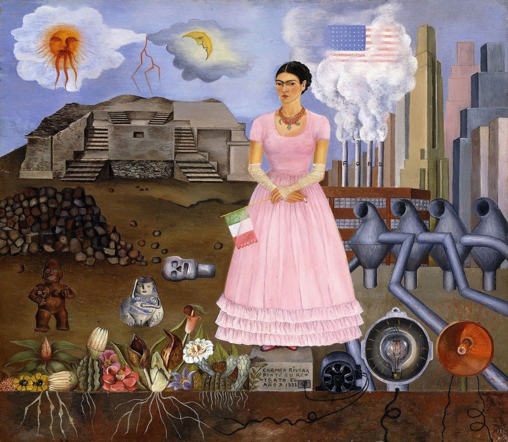 Painting by Frida Kahlo.