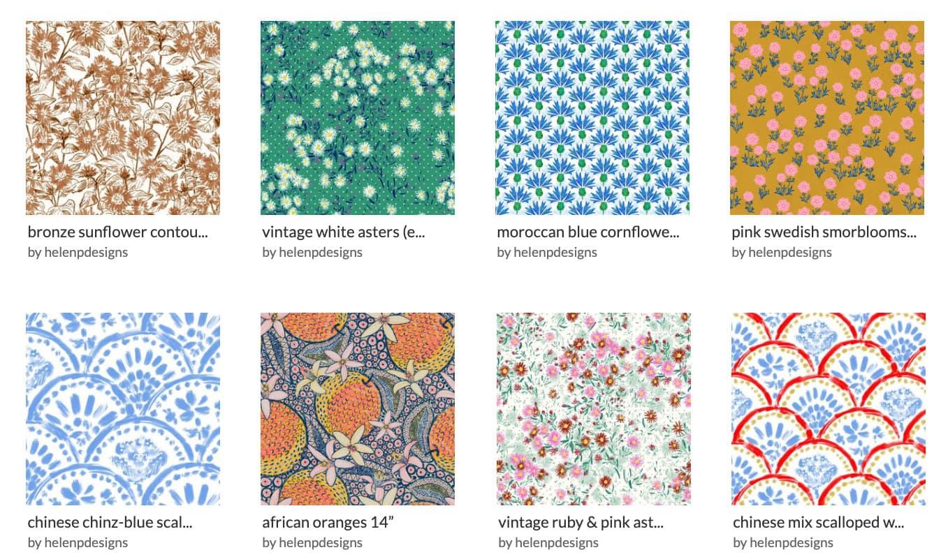 favorite spoonflower designers