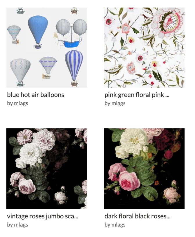favorite designers on Spoonflower