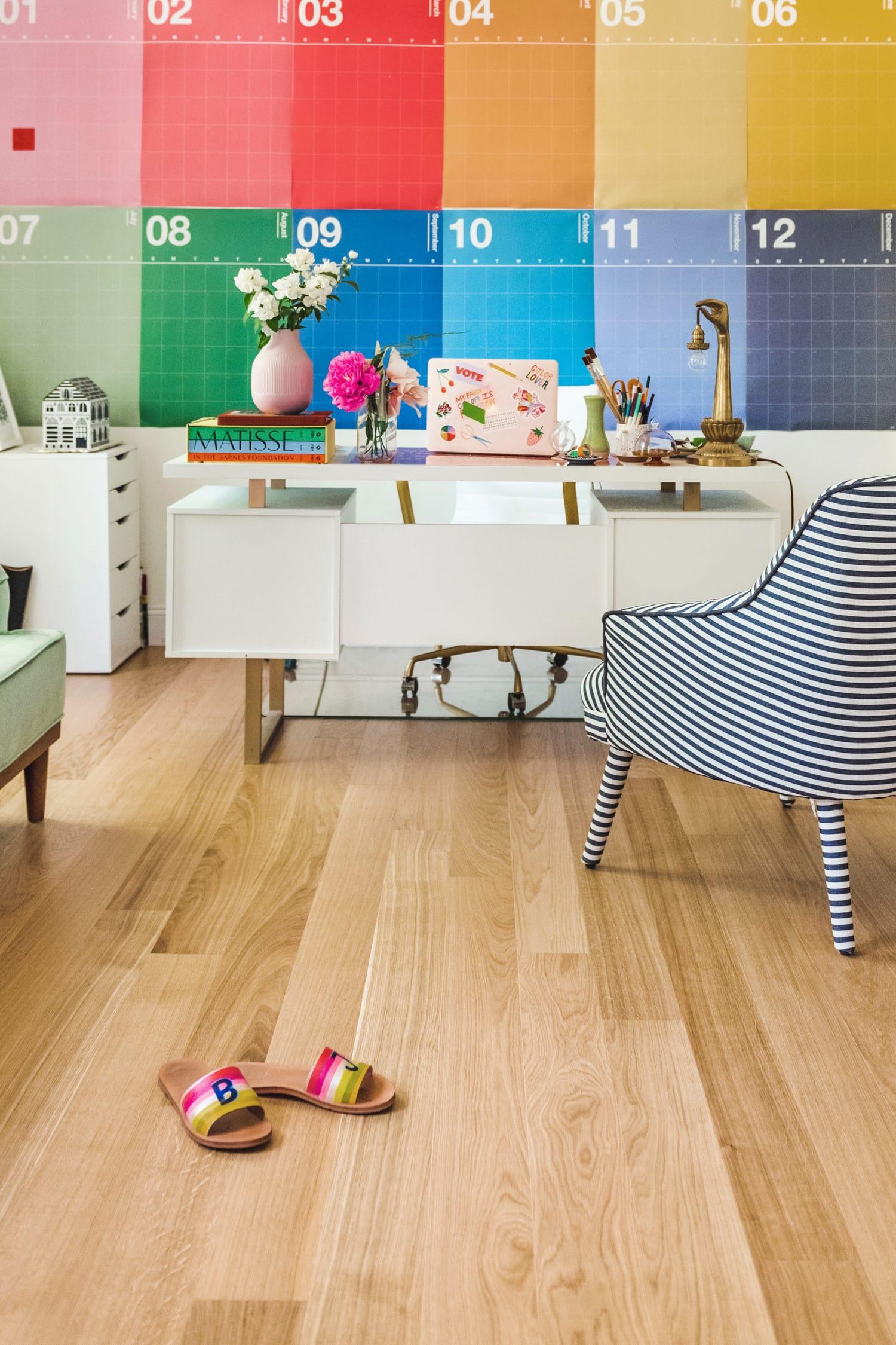 beautiful wood floors from Stuga